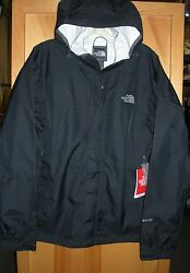 THE NORTH FACE MENS VENTURE 2 WATERPROOF JACKET #A8AR BLACK SM LXLXXL $58.00