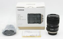 Tamron Sp 24-70mm F/2.8 Di Vc Usd G2 Canon Ef - With Warranty. Next Day Delivery