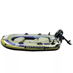 Inflatable Boat With Rubber System Boat Fishing Boat And Kayak Bearing 3-person
