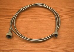 1955 1956 1957 Chevy Speedometer Cable Assembly With Metal Housing New