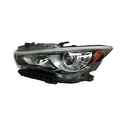 For Infiniti Q50 14-17 In2502158 Driver Side Replacement Headlight Brand New