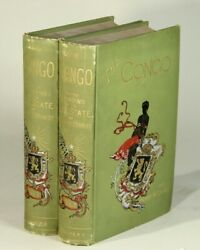 Henry M Stanley / Congo And The Founding Of Its Free State Story Of Work 1885