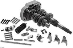 Baker 6-speed Gear Set For Evolution Big Twin Models 411g 3.24 First/.80 Sixth
