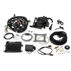 550-410 Holley Fuel Injection Kit Gas New For Chevy Chevrolet Silverado 1500 Gmc