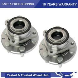 2 Front Wheel Hub Bearing Assembly For 4wd 2015-2018 Chevy Colorado Gmc Canyon