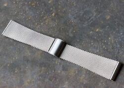 Last One 1960s Seiko Japan 19mm Mesh Vintage Watch Band 6105 Diver Compatible