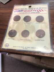 Nip Historic Replica Coins State Coins 1776-1787 Set 102 Usa By Dory 12865-0546