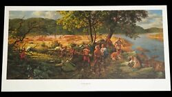 Fort Pitt Under Siege Limited Edition Print 530/950 By Robert Griffing