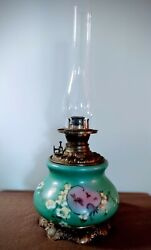 Rare Find. 23 1/2 Consolidated Antique Oil Lamp