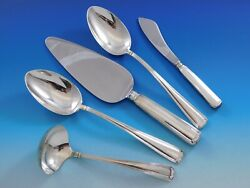 Marie Louise By Blackinton Sterling Silver Essential Serving Set Large 5-piece