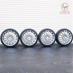 +w397 W205 Mercedes 15-18 C Clas 19 Inch Wheels Tires C300 Amg Package Staggered