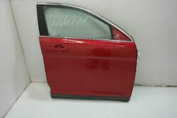 2010-18 Ford Taurus Passenger Front Right Door Electric Sel Red