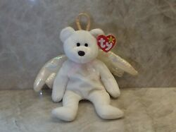 Vintage Beanie Babies Halo Brown Nose Tag Errors Near Mint 1998