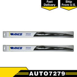 Anco 14-series Front Left Driver Side 2x 22 Wiper Blades Fits Jeepcompass