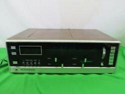 Vintage Panasonic Rs-820s Am Fm 8 Track Stereo Player Receiver