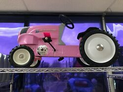 Pedal Tractor Pink