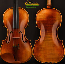 Master Antique/old Guarnerius Style Violin 44 One Piece European Wood Open Power