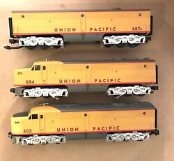 Mth Rail King O Scale Union Pacific Alco Pa Aba Diesel Engines W/ps No Box