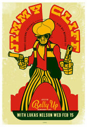Scrojo Jimmy Cliff Lukas Nelson Belly Up Tavern 2012 Poster Cliff_1202