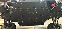 2020-21+ Can-am Maverick Full Uhmw Full Skid Plate Including A-arm Guards