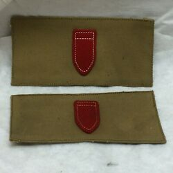 Vintage Military Patch Lot 2 Army Coastal Artillery Corps 2nd Class Gunner