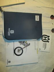 Husqvarna Document Wallet Bag And Owners Manual 2017 Fc 350 Fx 350