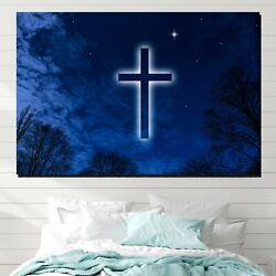 The Wonder Of The Cross Christianity Religion And Jesus Canvas Art Print For Wal
