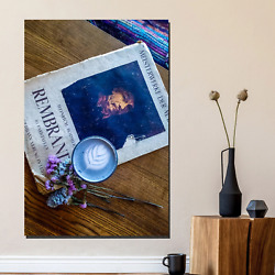 Art Of Latte Cafe And Coffee Canvas Art Print For Wall Decor