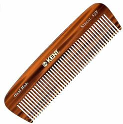 Kent 12t All Coarse Hair Detangling Comb Wide Teeth Pocket Comb For Thick Hair
