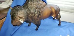 Breyer Buffalo American Bison Figure Molding Company Brown Large 23quot;