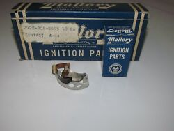 Case Of 10 Mallory Contact Points Nos 24205