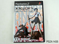 Blood+ One Night Kiss Playstation 2 Japanese Import Ps2 Japan Jp Rgn Us Seller