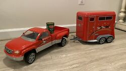 Breyer Red Dually Pickup Truck amp; Trailer Traditional Horse Toy Retired