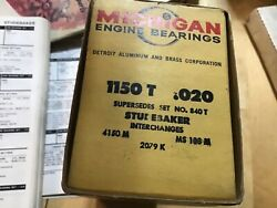 Studebaker Main Beearings 1955-60. Andnbsp170 And 185.6 Cubic Inch X.020