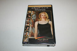 Great Hair Homestyling With Wayne Grund New Sealed Vhs Tiger Clamp