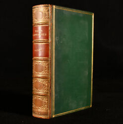 1850 The Personal History Of David Copperfield Charles Dickens Illus 1st