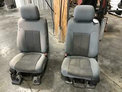 2011-2016 Ford F250 F350 Superduty Front Seat Bench 40/20/40 Cloth