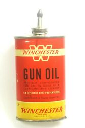 Vintage Winchester Gun Oil Lead Top 3 Oz. Can White Band W