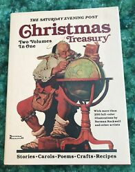 1986, The Saturday Evening Post Christmas Treasury, Norman Rockwell And Much More