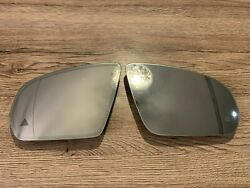 Mercedes C E S W205 W213 W222 Oem Mirror Glass Set Lh Rh Dim Heating Blind Spot