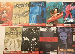 The Punisher Comic Lot-vol 10 14-20 And Vol 11 1-2 All 1st Prints