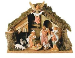 Fontanini 7.5 Collection 8-pc Figure Set With Italian Stable By Roman, Inc.
