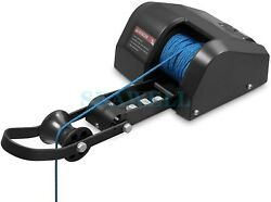 35 Lbs Boat Saltwater Electric Anchor Winch With Wireless Remote Control Black