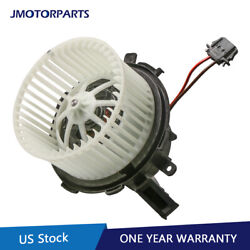Front A/candnbspheater Blowerandnbspmotor And Fan Cage For Audi A4 A5 Q5 S4 S5 8k1820021c