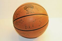 Seattle Super Sonics 2007-2008 Game Ball Sports Basketball Autographed