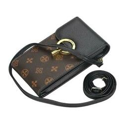 iPhone Cell Phone Case Leather Small Bags Android Messenger Wallet Handbags Flap $27.54