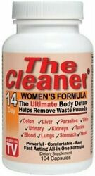 Century Systems - The Cleaner 14 Day Womens Formula 104 Capsules