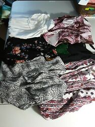 Lot Of Six Top Blouses Womenand039s Preowned Size M Diferent Brands Gracebobeauela