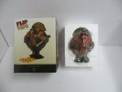 New In Box Dept 56 Turkey Flip Tops Candy Dish 2003 - Thanksgiving Holiday Small