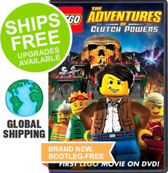 LEGO Adventures of Clutch Powers DVD 2010 NEW $8.39